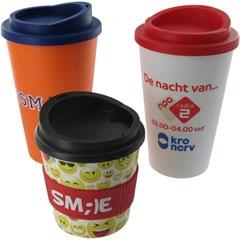 Koffie en koffiebekers