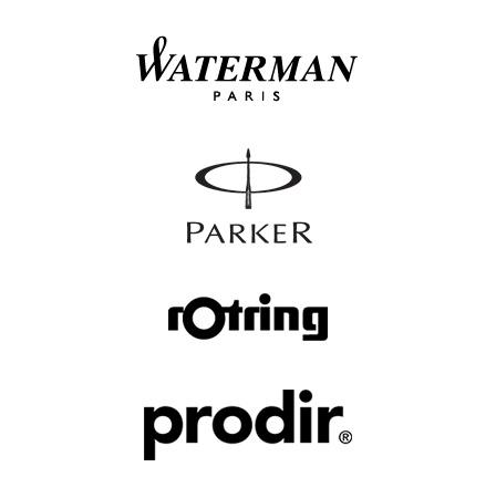 Merken Parker, Prodir, Waterman
