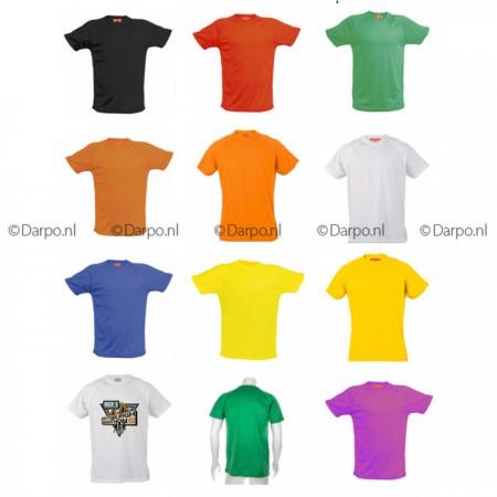 coolfit shirts met opdruk