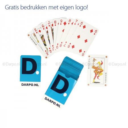 Speelkaarten bedrukken in kleine oplage.