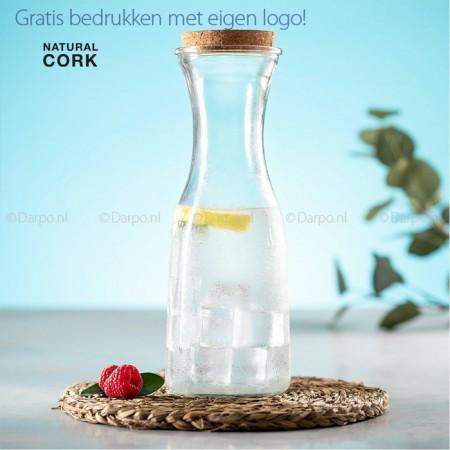 Glazen waterfles - karaf