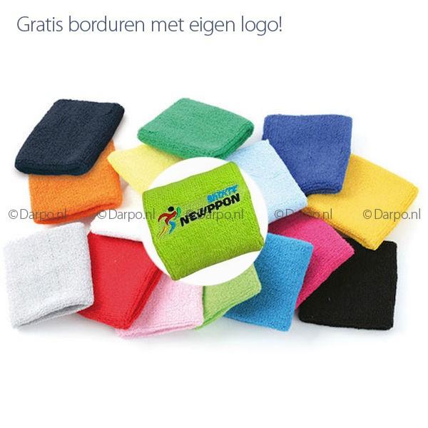 Borduren Op Badstof.Relatiegeschenken Met Logo Bedrukken Bij Darpo Reklame Zweetband