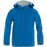 Basic Softshell jack hooded kids