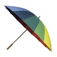 Rainbow golf paraplu