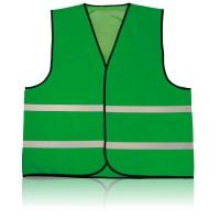 Veiligheidsvest Blauw, Groen, Rood, Wit,