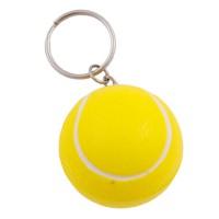Sleutelhanger met anti stress tennisbal