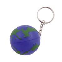 Sleutelhanger met anti stress Globe