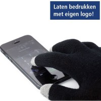 Touchgloves met logo