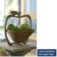 Fruitschaal Appel Bamboe schaal - onderzetter