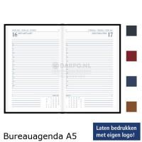 Bureauagenda Luxe gewatteerde omslag A5