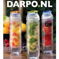 Waterfles met infuser voor fruit 500ml