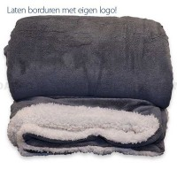 Fleece deken XXL Lux
