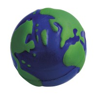 Anti Stress Globe Ø 6,5 cm stressbal