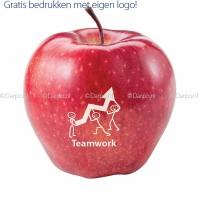 Appels met een eigen logo