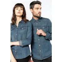 Denim overhemd - shirt - blouse jeans