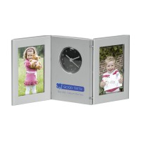 fotolijst met klok