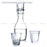 Glazen karafset met glazen