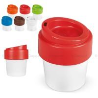 Eco koffiebeker met drinkdeksel 240ml