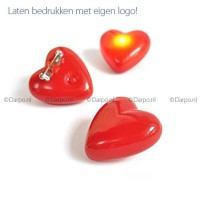 LED rood hartje knipperlicht