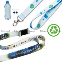 bedrukte recycling lanyards