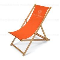 bedrukte strandstoel