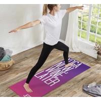 Yogamat bedrukken