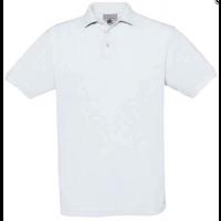B&C Poloshirt Safran-WHITE--