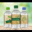 100% R-PET Flesje Water 330 ml bedrukken met eigen logo