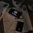 Powerbank lichtgevend log